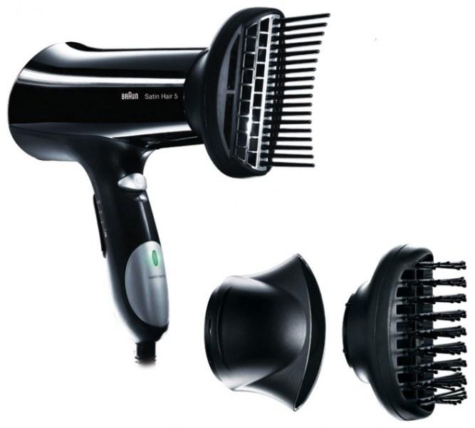 Фены для волос браун с насадками