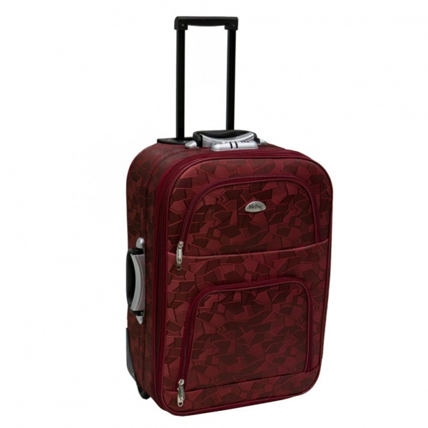 1545c5eb56c3 Чемодан Mr.Bag 2х колесный - «Как же я хотела чемодан на колесах ...