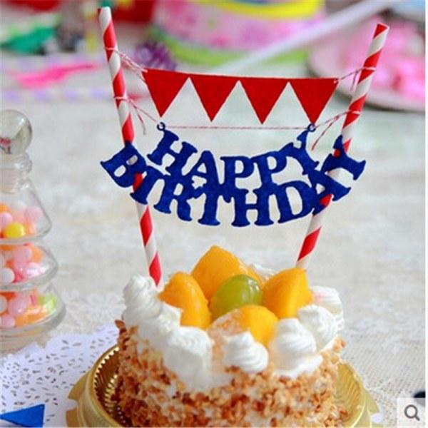 Растяжка для торта с днем рождения