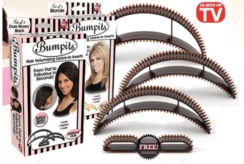 Заколка для объема волос bumpits бампит