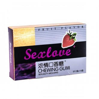 Жевательная резинка секс лове