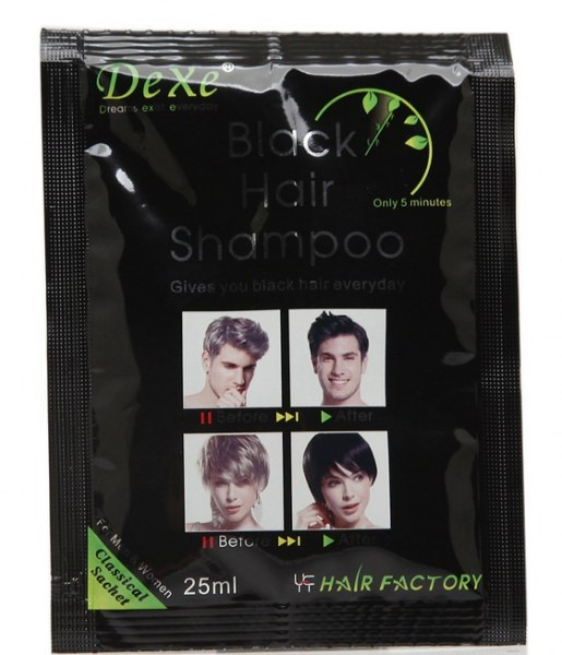 Шампунь-краска для волос для мужчин