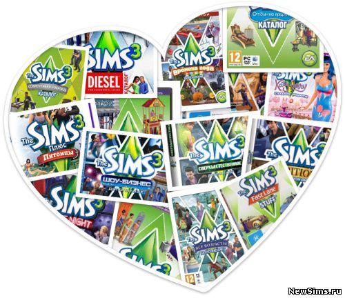 Sims 2 17 в 1 скачать торрент.