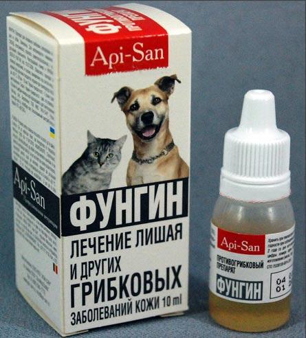 Фунгин коту
