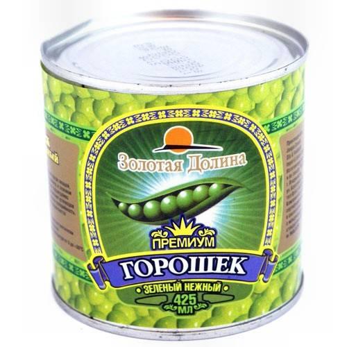 3b777a60782 Горошек зеленый консервированный Тм