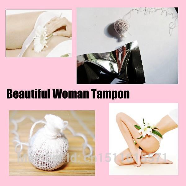 Женские вагинальные фитотампоны