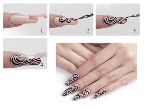 Кисточки для дизайна ногтей какая для чего