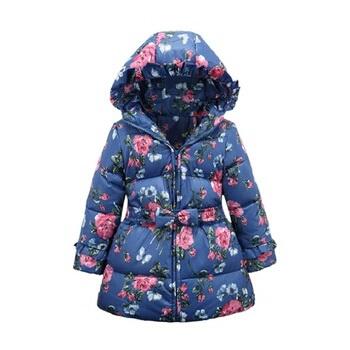 8294f4b04 Куртка AliExpress 2016 Spring Winter 90% Down Girls Coat Thick ...