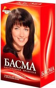 Басма краска для волос отзывы