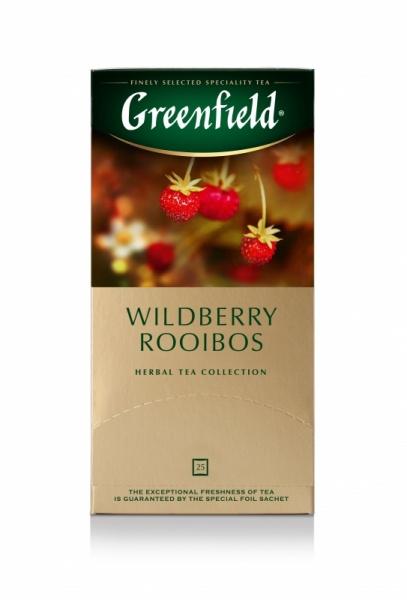 чай ройбуш гринфилд в пакетиках