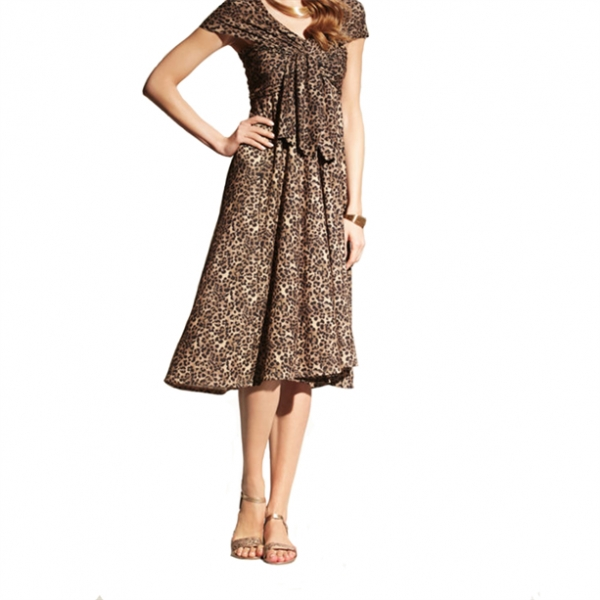 f06d89871df7 Платье трансформер AVON Женское (леопард) - «Леопардовое платье ...
