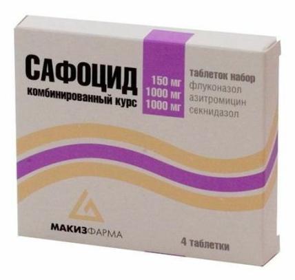Набор таблеток Сафоцид -