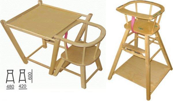 стульчик для кормления фея стол стул детский деревянный трансформер