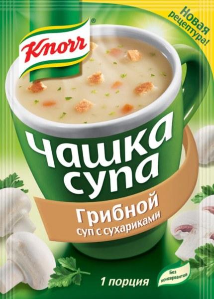 как приготовить суп knorr