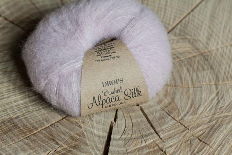 пряжа brushed alpaca silk отзывы