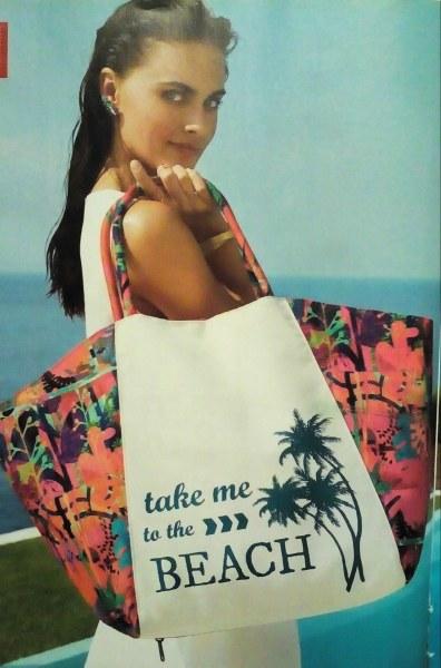 69c3927c9969 Пляжная сумка Oriflame