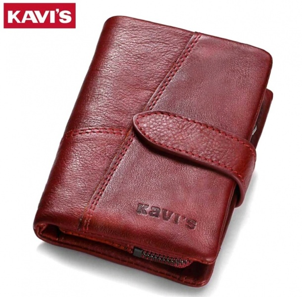 7d5117e5a102 Кошелек женский Aliexpress KAVIS 2017 Genuine Leather Women Wallet And  Purses Coin Purse Female Small Portomonee Rfid Walet Lady Perse For Girls  Money Bag - ...