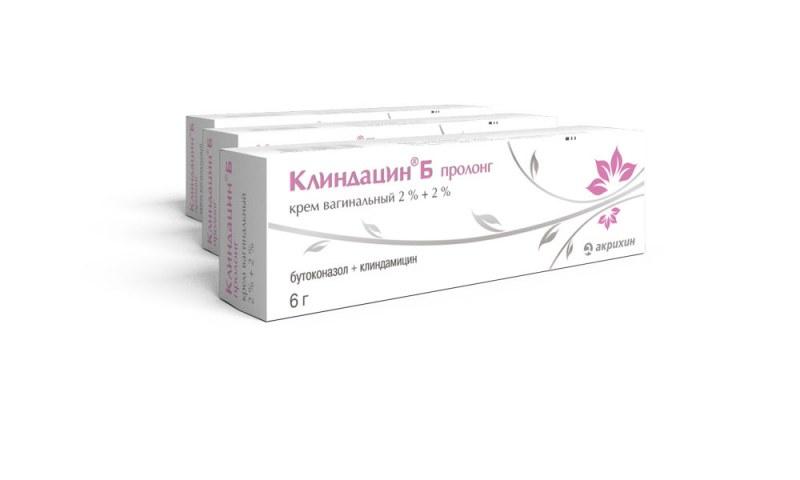 Антибиотик Клиндацин Б Пролонг Крем вагинальный | Отзывы покупателей
