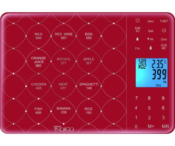 инструкция кухонные весы скарлет индиго - фото 3