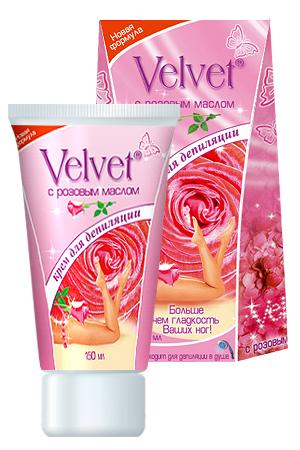 velvet крем для депиляции с лавандовым маслом