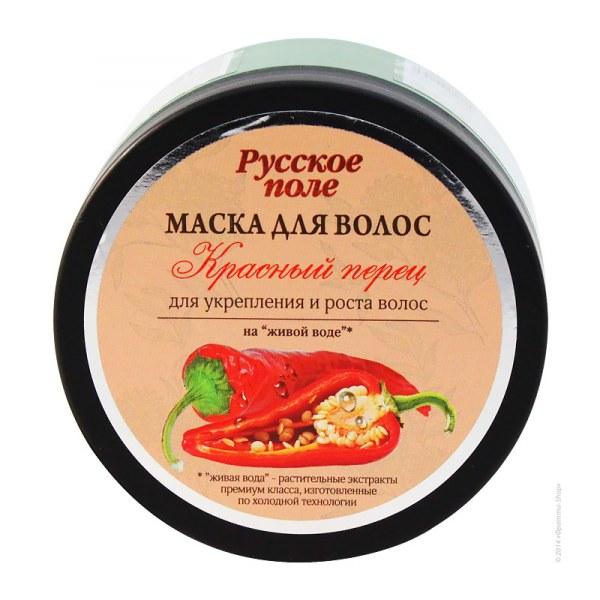 маска с красным перцем для волос