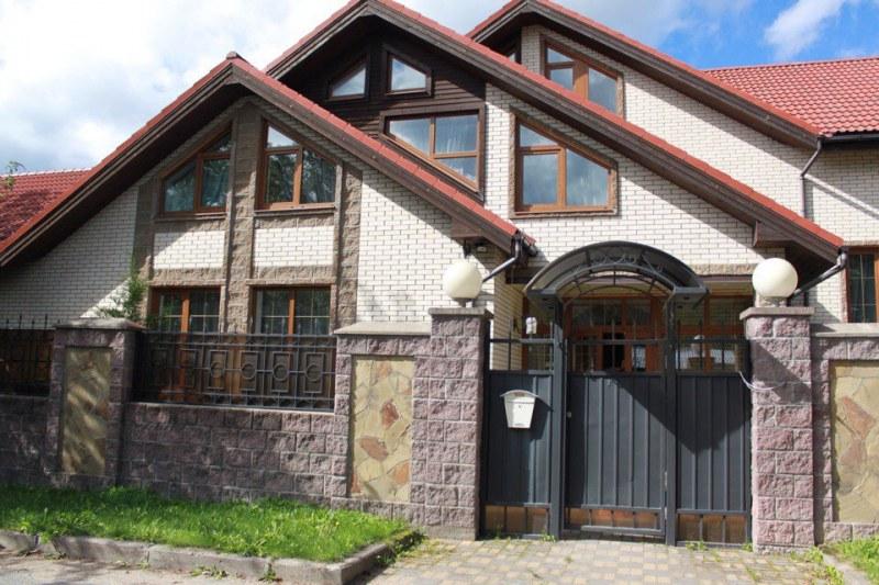 частные дома в москве схема