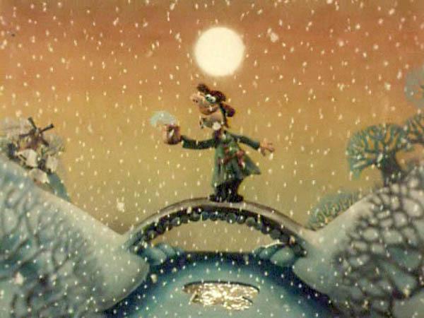 картинки из мультика падал прошлогодний снег