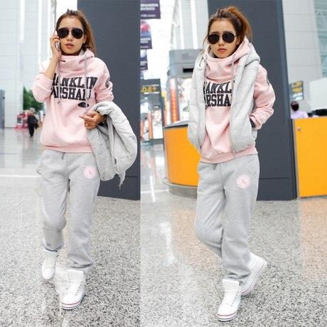 992c4e75853 Спортивный костюм AliExpress Women Autumn   winter fashion sweatshirt  hoodie set - отзывы