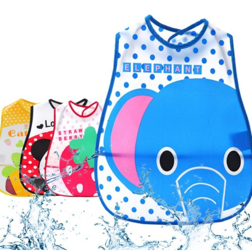 Baby Boy Girl Bibs Waterproof Saliva Towel Bib Feeding Burp Apron Bandana EVA