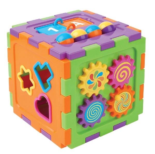 Развивающий куб для детей от 1 года фото