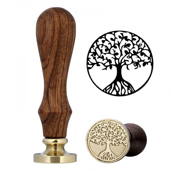 картинки печатей с деревом бренды выпускают