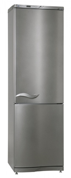 Холодильник чёрного цвета атлант