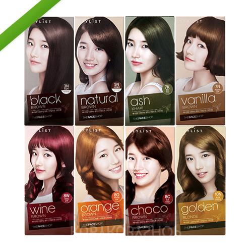 Корейская краска для волос