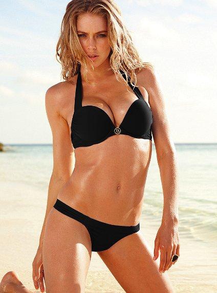 aa456c4bd0285 Купальник Victoria's Secret to Your Bag Bombshell™ Swim Tops Adds 2 Cups  Push-up Halter Top - отзывы