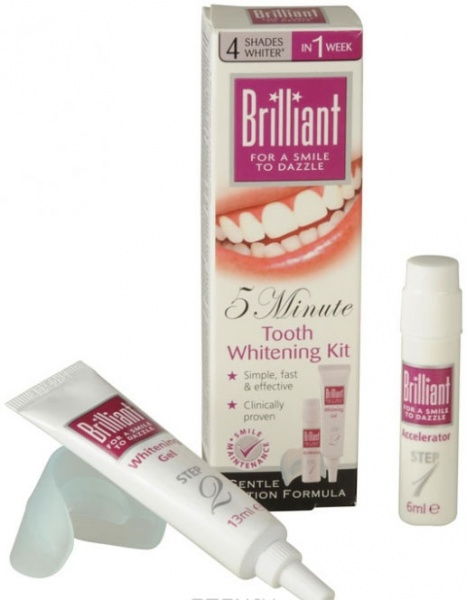 Отбеливание для зубов brilliant 7 дней отзывы