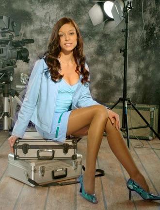 фото женщины в колготках