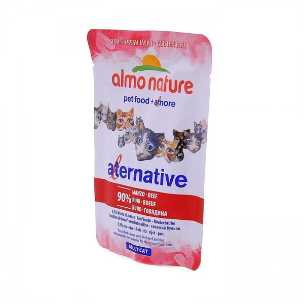 Almo nature влажный корм для кошек