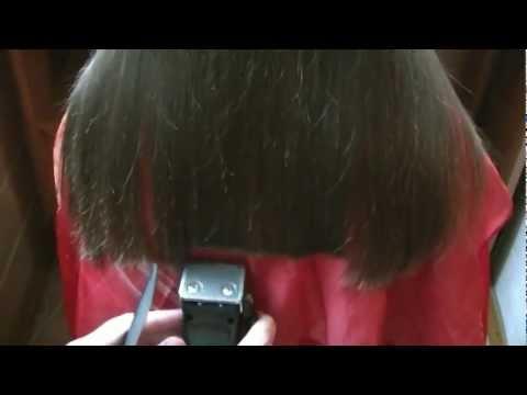 Как самой подстричь концы волос видео - Pizza e Birra