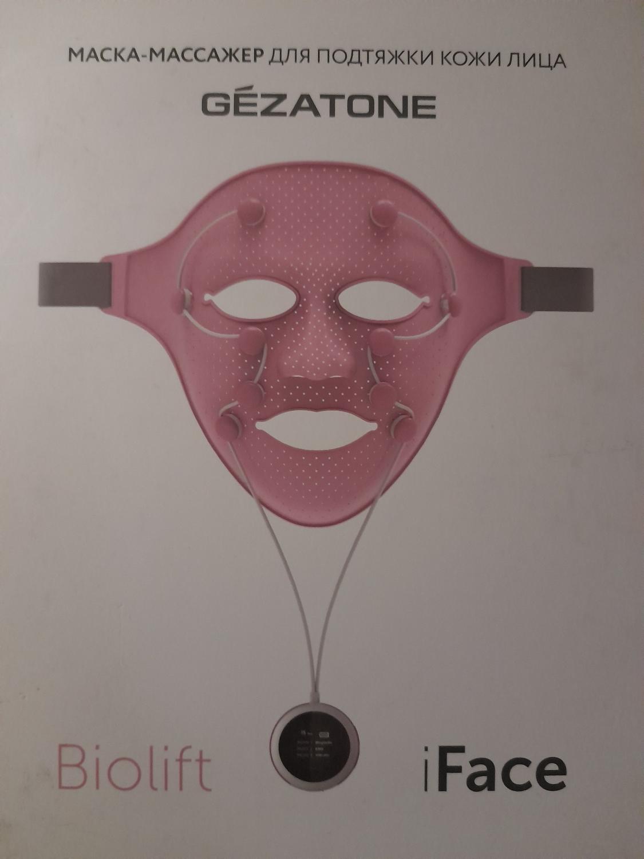 массажер маска gezatone отзывы
