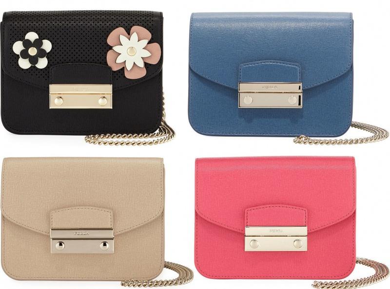 Сумка Женская Furla Julia Mini Leather Crossbody Bag   Отзывы ... 18eebd4964c
