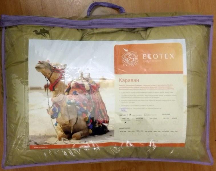 4de184c06f9b Одеяло Ecotex Караван классическое арт. ОВТ1 (наполнитель: верблюжья шерсть)  - отзывы