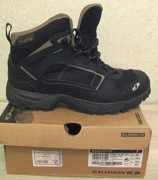 Зимние ботинки Salomon Wasatch
