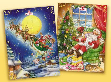Windel Weihnachtskalender.рождественский календарь Windel Adventskalender