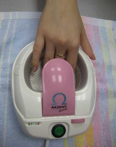 Горячей ванночки для маникюра