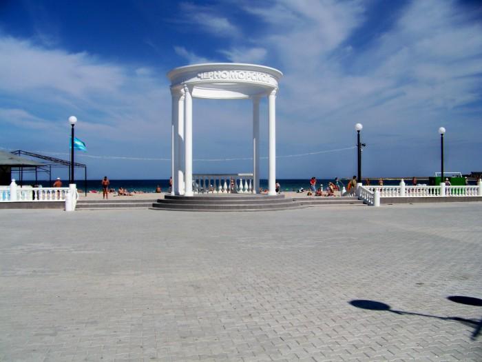 крым пос.черноморское фото