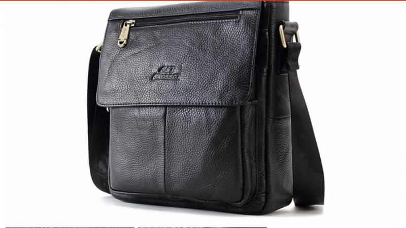 f30d5f1bad56 Мужская сумка Aliexpress CROSS OX кожаная New Fashion Cowhide Man Messenger  Bags Genuine Leather Male Cross Body Bag Casual Men Commercial Briefcase Bag  ...
