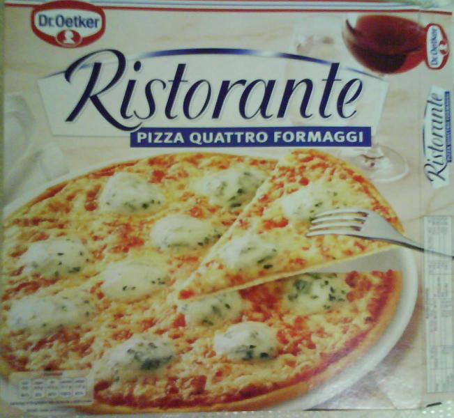 Пицца dr oetker ristorante pizza quattro formaggi отзыв