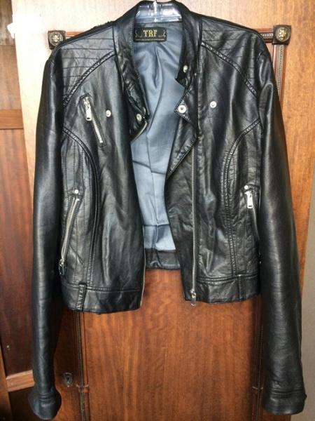 4aeb433deeb9 Куртка из искусственной кожи Zara TRF - «Моя не первая, но последняя ...