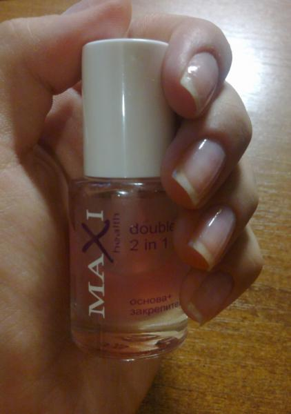 Основа и закрепитель для ногтей Maxi color основа ... Закрепитель