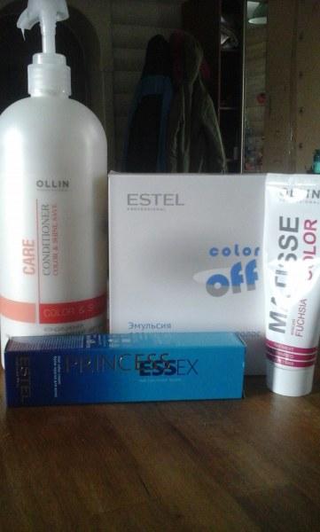 Estel эмульсия для удаления стойких красок с волос color off отзывы